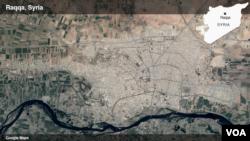 Raqqa, Suriah