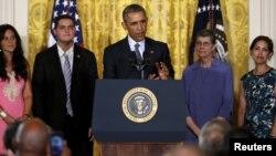 Predsednik Barak Obama predstavlja Plan za čistu energiju u Beloj kući