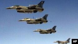 美国F-16战机(资料照片)