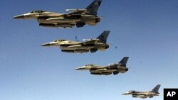ABŞ-ın F-16 təyyarələri