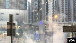 Biểu tình ở Hong Kong ngày 25/8/2019.