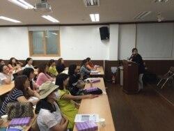 탈북 여성 위한 산모 교실