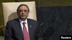 Tổng thống Pakistan Asif Ali Zardari.