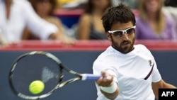 Janko Tipsarević u četvrtfinalu Rodžers kupa u Montrealu protiv Čeha Tomaša Berdiha