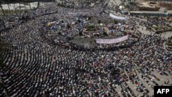 Təhrir meydanında nümayişlərin 12-cü günüdür