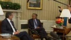 Средба Обама - Самарас