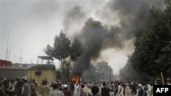 Демонстрація у провінції Тахар