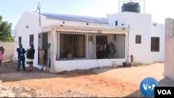 Um dos empresários era feito refém nesta casa, Maputo