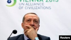 FILE - Turkey's Prime Minister Tayyip Erdogan, Feb. 27, 2013.