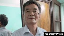 Nhà văn Nguyễn Xuân Nghĩa, một trong những người đi tiên phong trong cuộc vận động đòi lại chủ quyền biển đảo cho Việt Nam, trước những hành động lấn chiếm của Trung Quốc