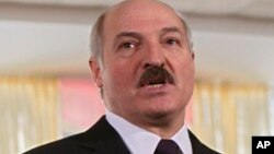 Belarusian President Alexander Lukashenko, 19 Dec. 2010