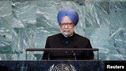 印度总理辛格2011年9月24日在联大会议上