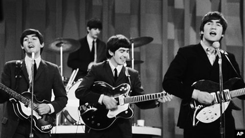 Beatles are now streaming online