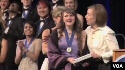 Pobednica takmičenja, 17-godišnja Sara Volz.
