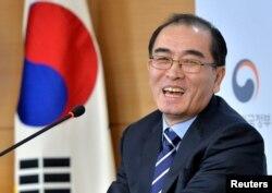 Thae Yong Ho ở Hàn Quốc, ngày 27 tháng 12, 2016.