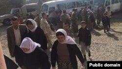 Captive Yezidis