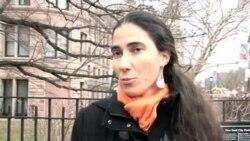 Yoani Sánchez visita Nueva York