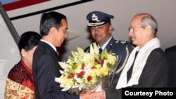 2016年12月12日,印度尼西亞總統佐科•維多多抵達印度新德里進行國事訪問。