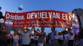 Protestaron contra la inseguridad, la inflación, la corrupción, la falta de justicia, los ataques a la libertad de expresión, entre otros inconformismos.