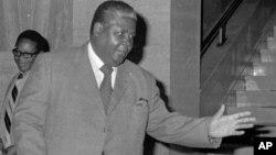 The late Vice President Joshua Nkomo.