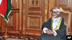 Oman leader Sultan Qaboos in Muscat (File Photo)