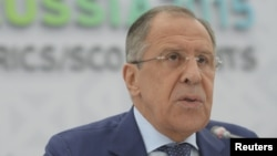 Menteri Luar Negeri Rusia Sergei Lavrov (foto: dok).
