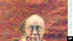 """高雄万人祈福法会,蔡英文""""巧遇""""达赖喇嘛"""