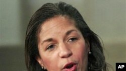 The US Ambassador to the UN Susan Rice (file photo)