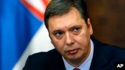 Mandatar za sastav nove srpske vlade Aleksandar Vučić (arhivski snimak)