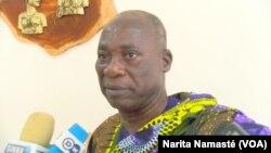 Nanan Bangui, à Yamoussoukro, en Côte d'Ivoire, le 11 octobre 2017. (VOA/Narita Namasté)