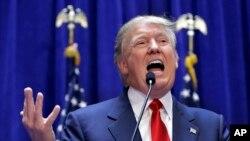 Donald Trump, le grand favori dans les primaires républicaines pour la présidence de novembre