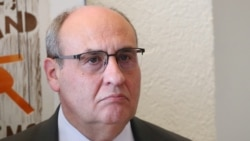 FILE - Antonio Vitorino, Director General of the International Organization for Migration, at the United Nations in Geneva, March 3, 2020.