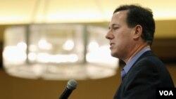 Según las últimas encuestas, Rick Santorum está en la delantera de la preferencia electoral días antes de las primarias republicanas en Michigan.