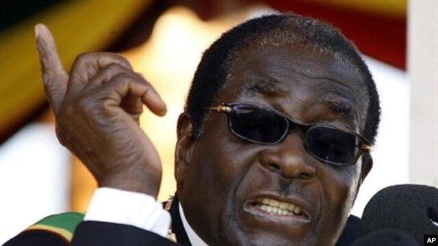 Zimbabwean President Robert Mugabe (file)