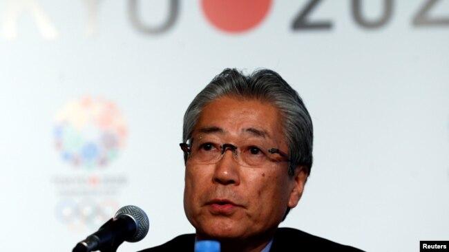 Chủ tịch Ủy ban Olympic Nhật Bản Tsunekazu Takeda.