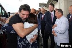 ABD'deki cezasını tamamlayıp 2019 yılında Türkiye'ye dönen Hakan Atilla