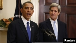 """""""John no va a necesitar mucho entrenamiento para este trabajo"""", dijo el presidente Obama."""