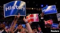 'Yan Democrats a wurin fidda 'yar takara a birnin Philadelphia
