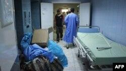 Репортаж из больницы в Триполи