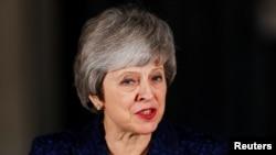 Британский премьер Тереза Мэй