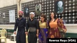 Pîrozbahîya Cejna Zimanê Kurdî li Efrînê
