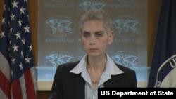 美国国务院反恐事务协调员凯达诺6月19日召开记者会