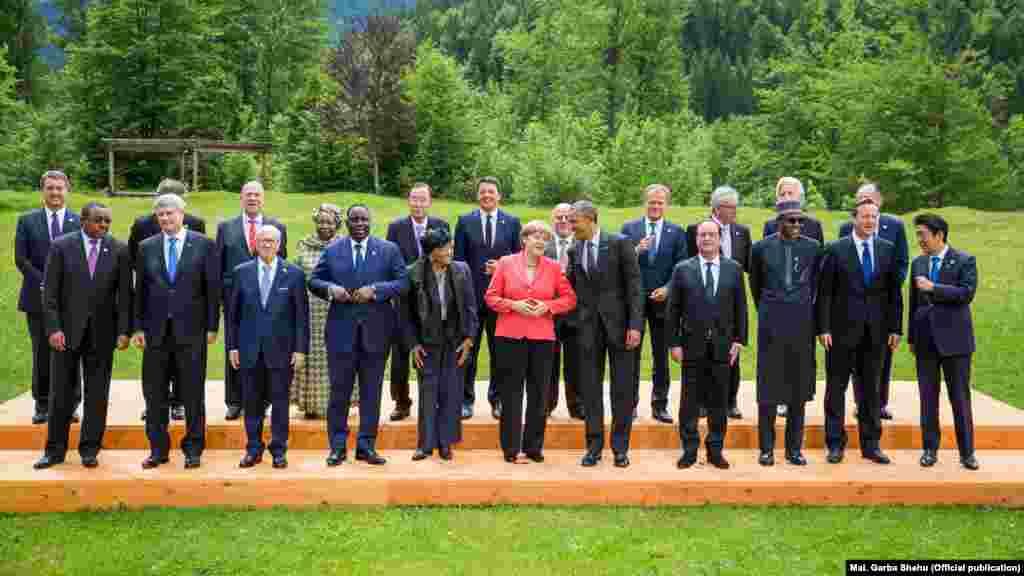 Shugaba Buhari a Taron G7