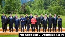 Các lãnh đạo của 7 nước mạnh nhất thế giới tại cuộc họp thượng đỉnh của khối ở