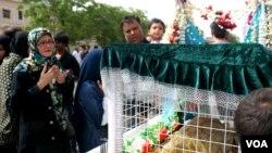 کراچی میں 'یوم علی' پر منعقدہ جلوس کی تصویری جھلکیاں