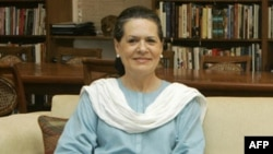 Bà Sonia Gandhi, Chủ tịch đảng Quốc Đại