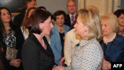Presidentja Jahjaga: Me sekretaren Klinton biseduam për avancimin e procesit të njohjeve