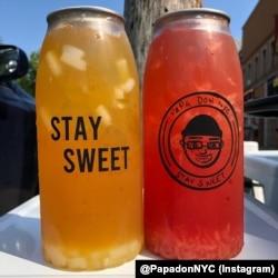 Aneka rasa minuman bubble tea yang ditawarkan Papadon di Astoria, Queens, New York. (Foto: @PapadonNYC/Instagram)