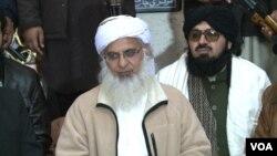 لال مسجد کے سابق خطیب مولانا عبدالعزیز