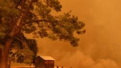 閃電在加州引發新的野火